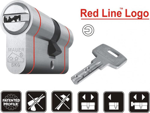 mauer elite e2 red line