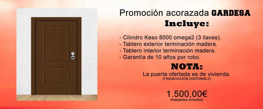 puertas acorazadas Murcia