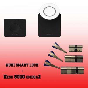Nuki smart + Keso 8000 omega 2