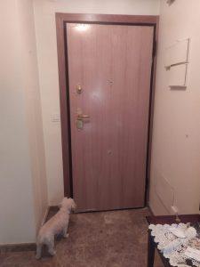 Terminación puerta acorazada interior