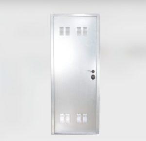 puerta acorazada kiuso trastero cerrada